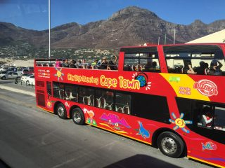Red Bus tour Cape Town